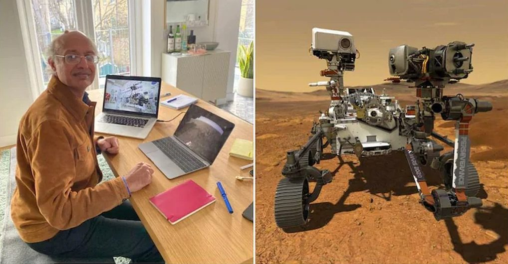Meet the Indian man driving NASA rover from rented flat in London
