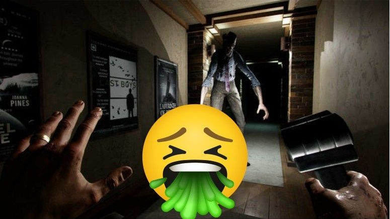 My first VR horror experience made me puke — here's what I played