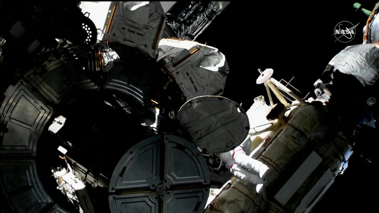 WEB EXTRA: Spacewalk To Prep Space Station For New Solar Panels