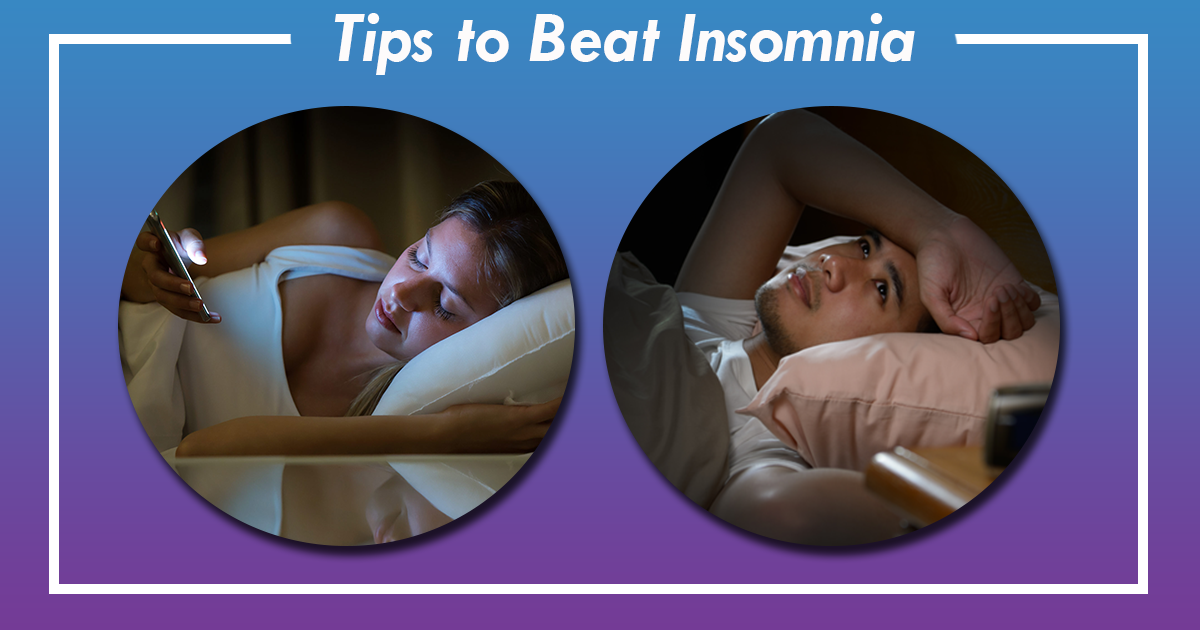 10 Tips to Beat Insomnia